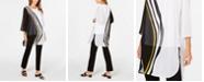 Alfani Petite Printed Tunic, Created for Macy's