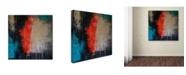 """Trademark Global Nicole Dietz 'Rage' Canvas Art - 14"""" x 14"""""""