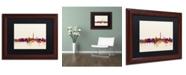 """Trademark Global Michael Tompsett 'Washington DC Skyline V' Matted Framed Art - 11"""" x 14"""""""