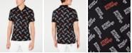 A|X Armani Exchange Men's Allover Logo Polo Created For Macy's