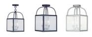 Livex Milford 3-Light Convertible Mini Pendant/Ceiling Mount