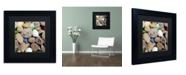 """Trademark Global Michelle Calkins 'PetoskeyStones V' Matted Framed Art - 11"""" x 11"""""""