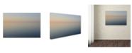 """Trademark Global Kurt Shaffer 'Stillness is the Way' Canvas Art - 12"""" x 19"""""""