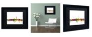 "Trademark Global Michael Tompsett 'Washington DC Skyline II' Matted Framed Art - 11"" x 14"""