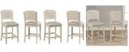 Hillsdale Clarion Non-Swivel Open Back Counter Height Stool