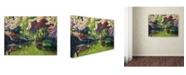 "Trademark Global David Lloyd Glover 'Spring Concerto' Canvas Art - 24"" x 32"""