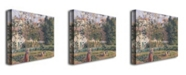 "Trademark Global Camille Pissarro 'Vegetable Garden, Pontoise, 1879' Canvas Art - 47"" x 35"""