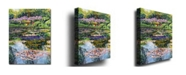 "Trademark Global David Lloyd Glover 'Giverny Reflections' Canvas Art - 47"" x 35"""