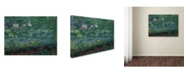 "Trademark Global Claude Monet 'The Waterlily Pond Green Harmony' Canvas Art - 24"" x 18"""
