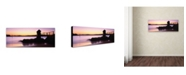"Trademark Global David Evans 'Camp Cove-Sydney' Canvas Art - 47"" x 16"""