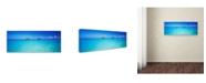 "Trademark Global David Evans 'Twin Islands-Oahu' Canvas Art - 47"" x 16"""
