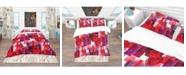 Design Art Designart 'Imprints Of Wine Bottles' Bohemian and Eclectic Duvet Cover Set - Twin
