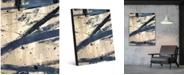 "Creative Gallery Avenger Abstract Portrait Metal Wall Art Print - 20"" x 24"""