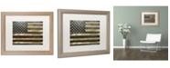 "Trademark Global Color Bakery 'Dawns Early Light' Matted Framed Art - 16"" x 20"""