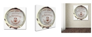 "Trademark Global Color Bakery 'Paris in Frames 2' Canvas Art - 35"" x 35"""