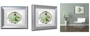 "Trademark Global Color Bakery 'Paris in Frames 7' Matted Framed Art - 11"" x 14"""