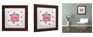 """Trademark Global Color Bakery 'Soul Food I' Matted Framed Art - 11"""" x 11"""""""