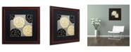 "Trademark Global Color Bakery 'English Garden VI' Matted Framed Art - 16"" x 16"""