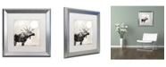 """Trademark Global Color Bakery 'Going Wild V' Matted Framed Art - 16"""" x 16"""""""