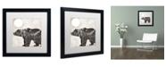 "Trademark Global Color Bakery 'Going Wild VI' Matted Framed Art - 16"" x 16"""