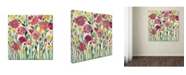 "Trademark Global Carrie Schmitt 'She Lived In Full Bloom' Canvas Art - 18"" x 18"""