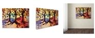 "Trademark Global Natasha Wescoat '014' Canvas Art - 24"" x 32"""