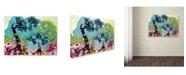 "Trademark Global Natasha Wescoat '032' Canvas Art - 14"" x 19"""