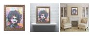 "Trademark Global Dean Russo 'Hendrix 6 Was 9' Ornate Framed Art - 11"" x 14"""
