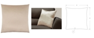 "Monarch Specialties 18"" x 18"" Satin Pillow"