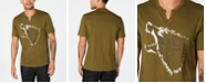 INC International Concepts INC Men's Studded Wolf T-Shirt, Created for Macy's