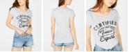 Love Tribe Juniors' Certified Taco Expert Graphic T-Shirt