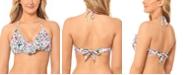 Salt + Cove Juniors' Waiting Fur Tonight Push-Up Ruffled Bikini Top, Created for Macy's