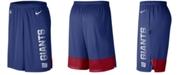 Nike Men's New York Giants Player Knit Breathe Shorts