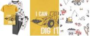 Carter's Little & Big Boys 4-Pc. Cotton Dig It Pajama Set