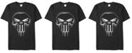 Marvel Men's Punisher The Punisher Spray Paint Skull Logo Short Sleeve T-Shirt