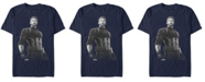 Marvel Men's Avengers Infinity War Captain America String Stare Short Sleeve T-Shirt