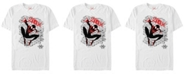 Marvel Men's Spider-Man Into The Spiderverse Spidey Spray Paint Tag Short Sleeve T-Shirt