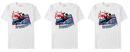 Marvel Men's Spider-Man Into The Spiderverse City Miles Web Action Short Sleeve T-Shirt