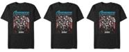 Marvel Men's Avengers Endgame Avengers Strong Stance Poster Short Sleeve T-Shirt
