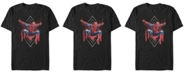 Marvel Men's Spider-Man Far From Home Geometric Jumping Portrait Short Sleeve T-Shirt