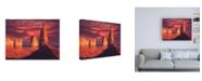 """Trademark Global R W Hedge Fiery Castles Canvas Art - 19.5"""" x 26"""""""