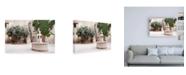 "Trademark Global Philippe Hugonnard France Provence Provencal Place Canvas Art - 19.5"" x 26"""