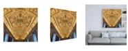 "Trademark Global Philippe Hugonnard Dolce Vita Rome 3 Hall of Mirrors III Canvas Art - 36.5"" x 48"""