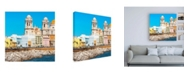 "Trademark Global Philippe Hugonnard Made in Spain 3 City of Cadiz II Canvas Art - 15.5"" x 21"""