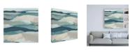 "Trademark Global June Erica Vess Blue Vista II Canvas Art - 36.5"" x 48"""