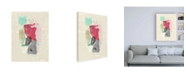 "Trademark Global Jennifer Goldberger Mid Century Riff I Canvas Art - 19.5"" x 26"""