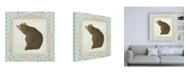 "Trademark Global June Erica Vess Forest Cameo VIII Canvas Art - 36.5"" x 48"""