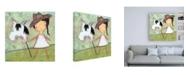 "Trademark Global Carla Sonheim Cowgirl Canvas Art - 15.5"" x 21"""