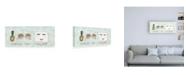 "Trademark Global Jenaya Jackson Boss Ladies X Aqua Empower Canvas Art - 27"" x 33.5"""