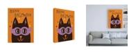 "Trademark Global Janelle Penner Spooktacular XIII Canvas Art - 19.5"" x 26"""